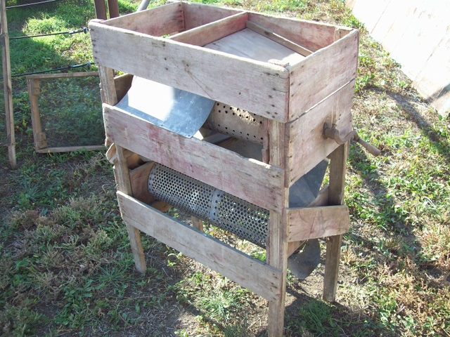 Antique Grain Cleaner Rotary Screen