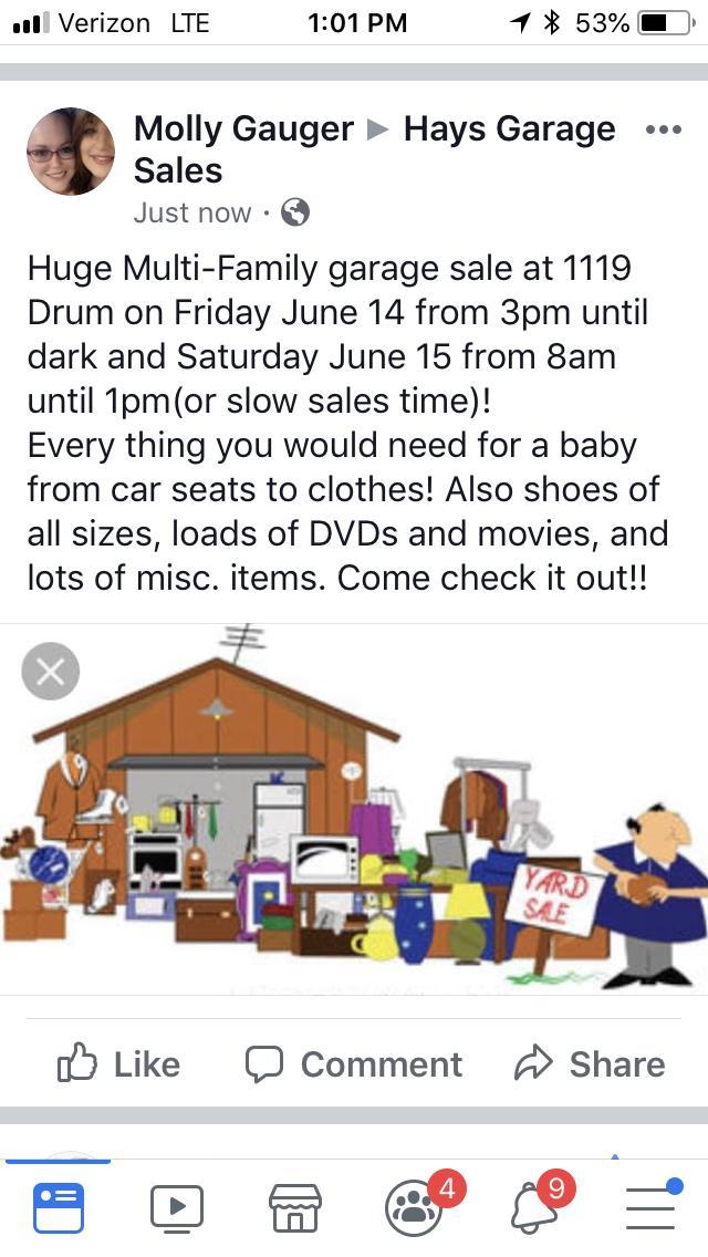 1119 Drum HUGE garage sale - Nex-Tech Classifieds