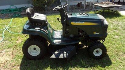 Craftsman Lt1000 Riding Mower >> Craftsman Lt1000 Riding Lawn Mower Nex Tech Classifieds