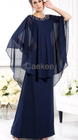 Mother/Grandmother of the Bride Dress Plus Size