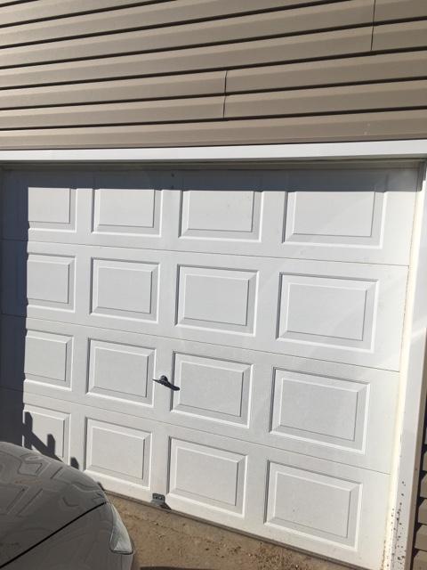 9x7 Insulated Garage Door