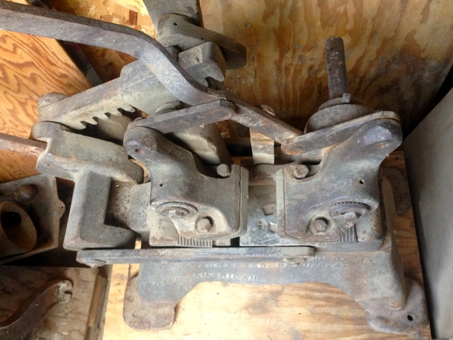 Antique Blacksmith Champion Blower & Forge #5 Wheel Shrinker