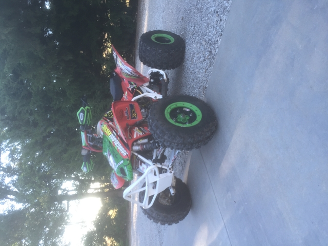 SOLD - 2009 Honda trx450r