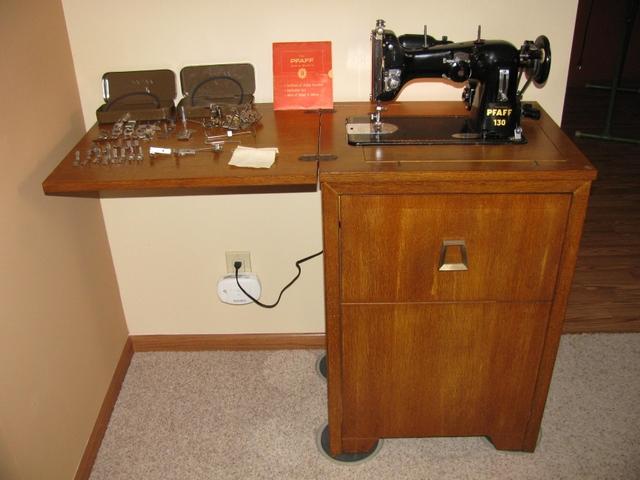 Vintage 40 Pfaff 40 Sewing Machine NexTech Classifieds Impressive Pfaff Sewing Machine Model 130