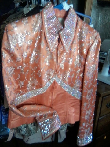 New and lightly used Western Horse Show clothes