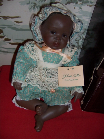 Vintage Yolanda Bello Picture Perfect Babies Porcelain Doll Nex