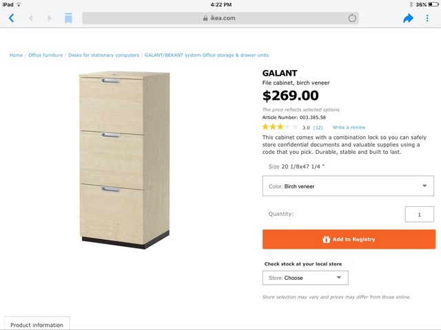 Stupendous Price Reduced Again Ikea File Cabinet New In Box Download Free Architecture Designs Xaembritishbridgeorg