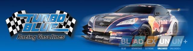 SOLD - Race Fuel Sunoco Turbo Blue 110