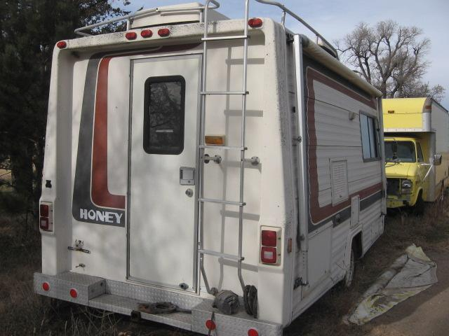 1984 Chevy Honey Motorhome Parts Only 43800 miles