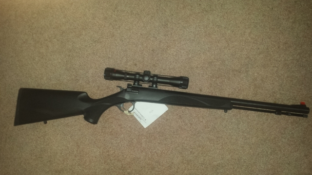 Traditions, Yukon, 50 cal in line muzzle loader Price reduce