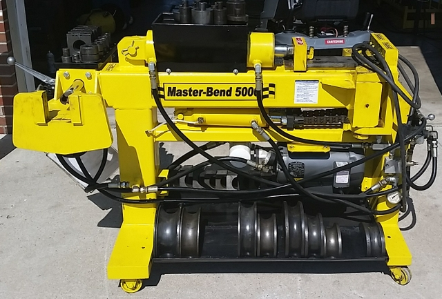 Master-Bend 5000 Exhaust Pipe Bender - Reduced Price!