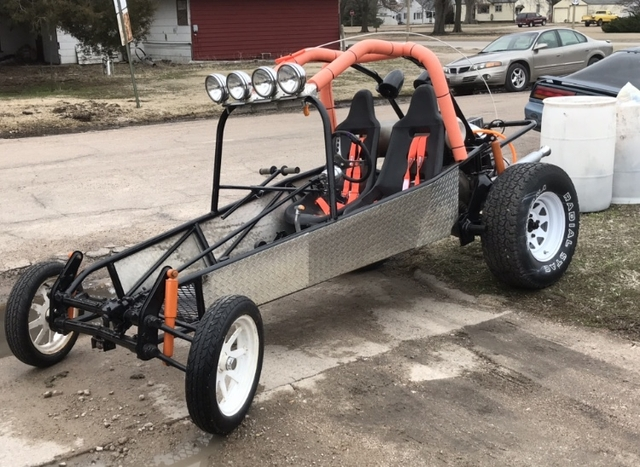 SOLD - VW Sand Rail Dune Buggy 1600cc with trailer
