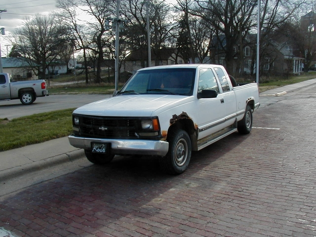 1995 Chevy K1500 extended cab 4WD pickup
