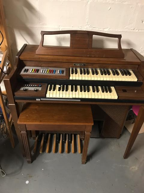 Organ For Sale >> Baldwin Funster Organ For Sale