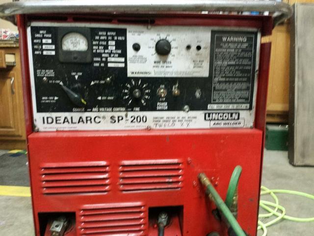 Lincoln Sp 200 Mig Welder Nex Tech Classifieds