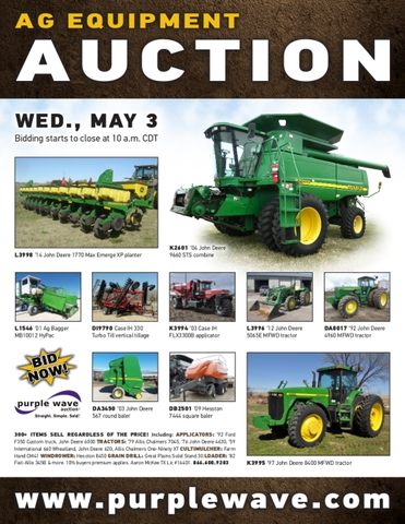 May 3 ag equipment auction - DiscoverStuff