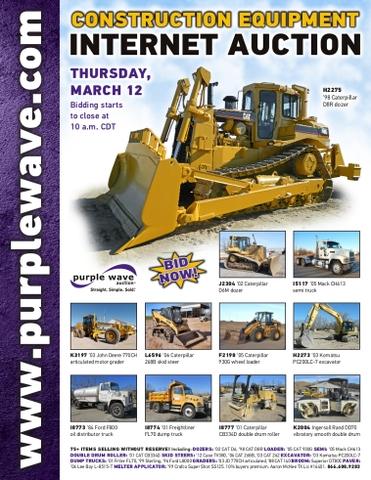 Fantastic March 12 Construction Equipment Auction Nex Tech Classifieds Beatyapartments Chair Design Images Beatyapartmentscom