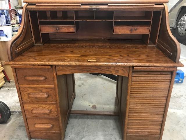Antique Roll Top Desk Nex Tech Classifieds