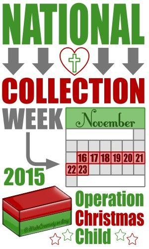 Occ Shoebox National Collection Week It 39 S Shoebox Time Discoverstuff