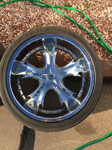24 Inch 6 Bolt Chevy Wheels Nex Tech Classifieds
