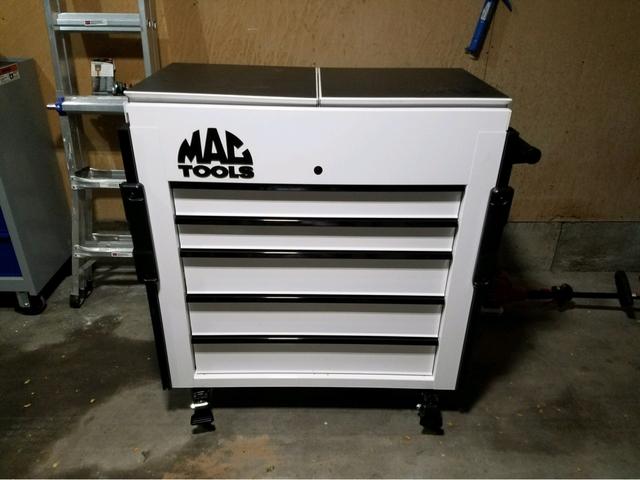 mac 4 drawer tool cart