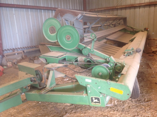 Canvas swather head for sale or obo