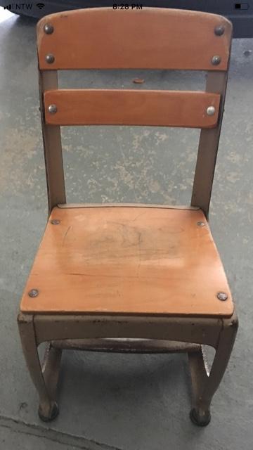 Excellent Vintage Childrens Desk Chairs Two Lamtechconsult Wood Chair Design Ideas Lamtechconsultcom