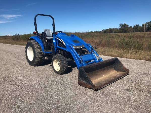 SOLD - TC35D New Holland 4x4 Tractor with Loader
