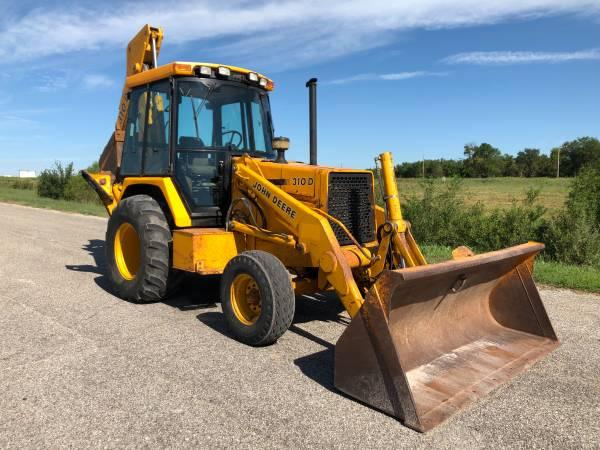 SOLD - 310D John Deere Backhoe
