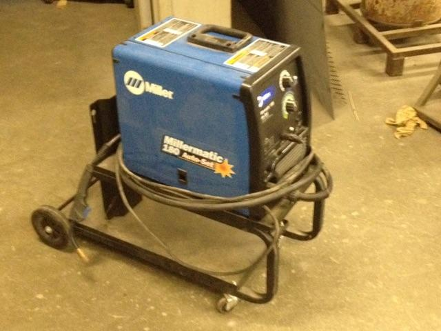 Mig Welder For Sale >> Sold Millermatic 180 Auto Set Mig Welder Sale Pending