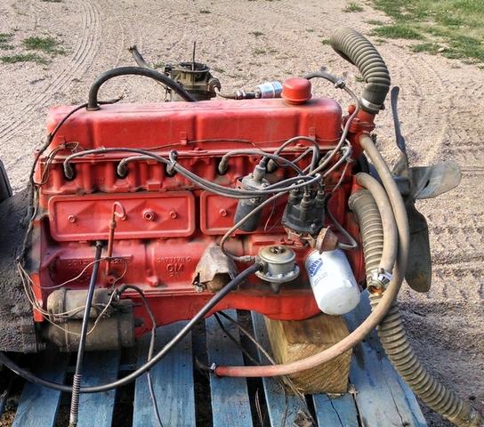 Chevy 230 Engine