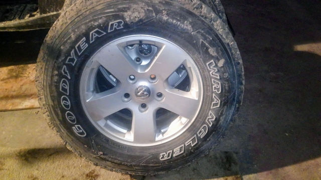 Dodge Ram 1500 Tires >> Sold Dodge Ram 1500 Wheels And Tires