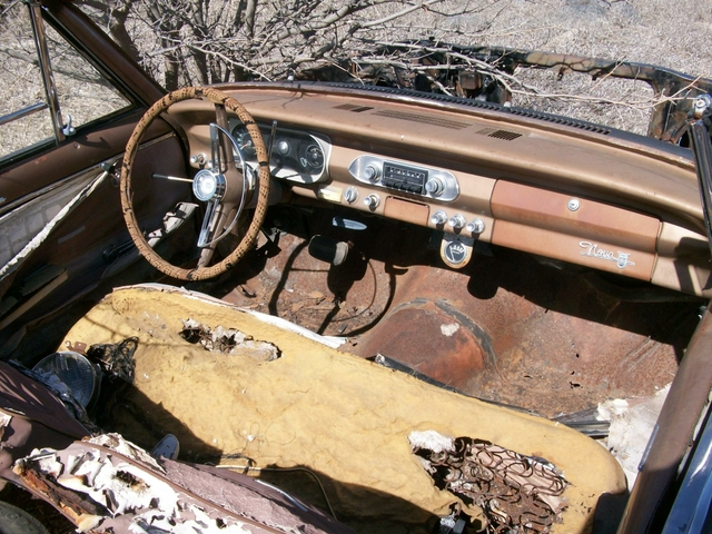1963 Nova/Chevy II Parts 5-lug Swap,V8 Oil Pan and More