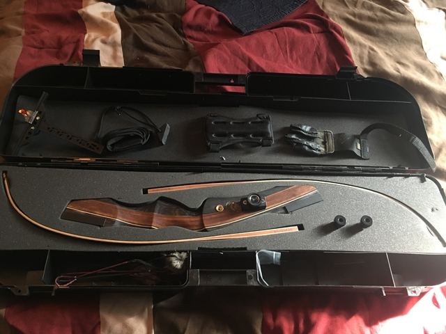 SOLD - PSE Recurve Bow with extras