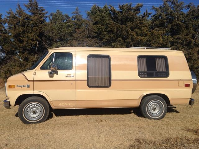 1982 Chevy conversion van owner excellent inside/out