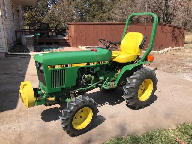 John Deere 650 >> John Deere 650 Compact Tractor Nex Tech Classifieds