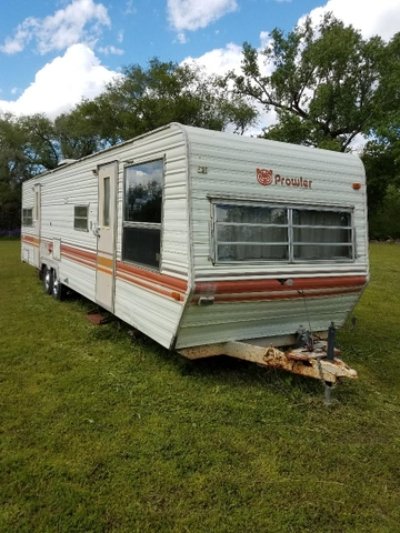 SOLD - 1983 Prowler Travel Trailer