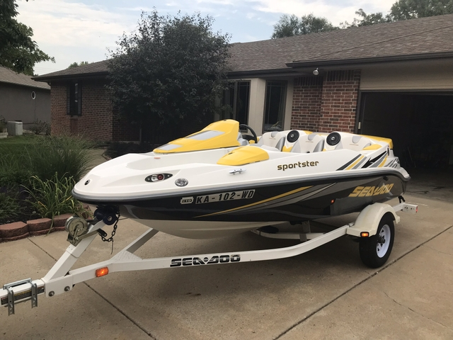 2006 SeaDoo Sportster 215 HP Supercharged