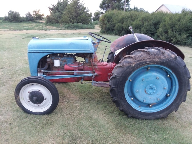 9n Ford Tractor >> 1954 Ford Tractor 9n