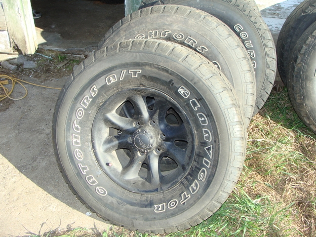 285 75 16 >> 4 285 75 16 Tires On 6 Bolt Chevy Wheels