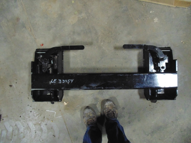 New Skid Steer Loader Quick-Attach Plate Conversion
