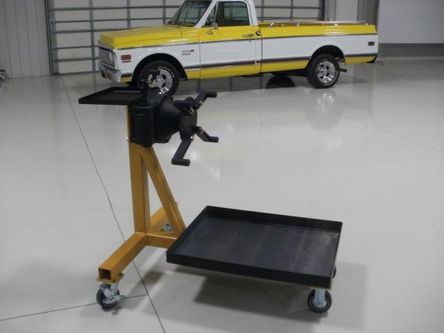 Engine Stand - Heavy Duty - Gear Box