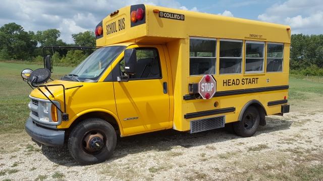 SOLD - 2000 Chevy Short School Bus