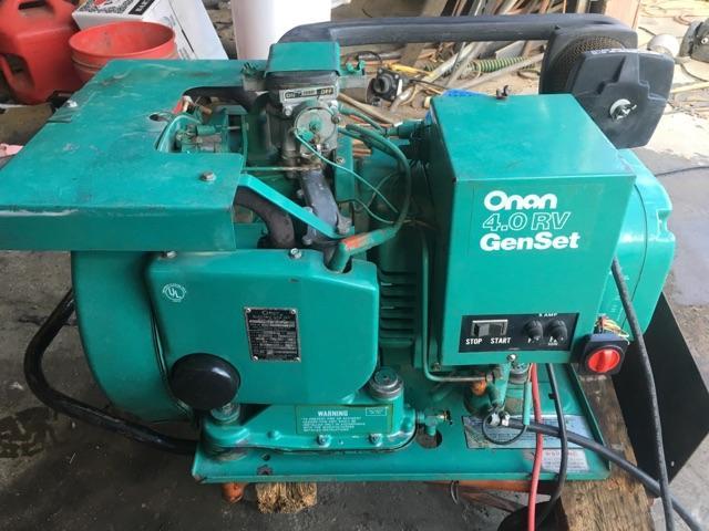 Onan 4.0 rv genset or generator  Onan Generator Wiring Diagram Battery on