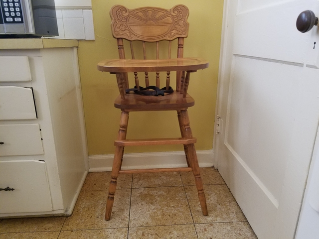 Surprising Sold High Chair Pabps2019 Chair Design Images Pabps2019Com