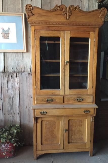 Antique Kitchen Cabinet Cupboard Pie