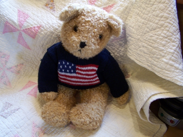 Ty Curly Bear American Flag Sweater - Nex-Tech Classifieds 34f3731c977