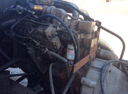 Cummins 4bt Turbocharged/Intercooled engine /low miles