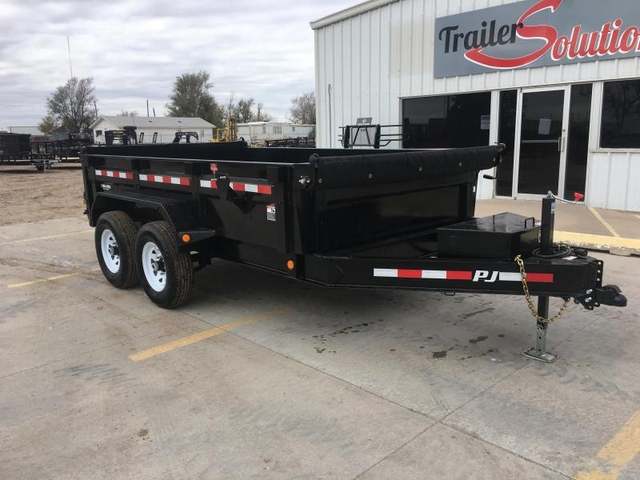 2019 Pj 12x83 Low Pro Dump Trailer Black Friday Sale Nex Tech Classifieds