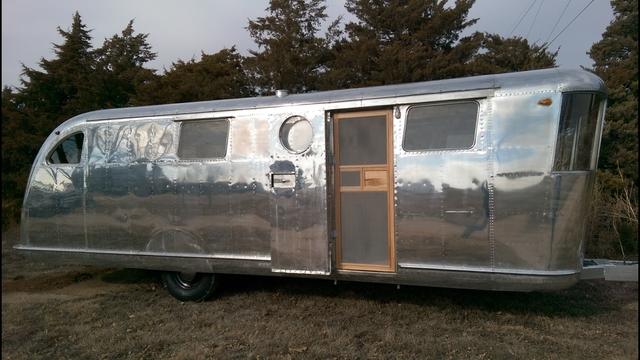 Vintage 1946 Spartan Manor Travel Trailer Camper Nex